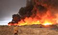 伊拉克石油产区盖亚拉镇:油井被武装分子炸毁