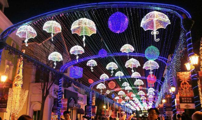 上海跨年灯会魔幻别致引人入胜