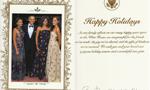"""奥巴马任内最后一张圣诞卡:白宫第一狗也""""签名"""""""