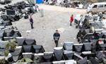 贵阳市一家电回收站废旧家电堆积如山