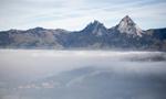 瑞士卢塞恩湖风光