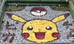 惊艳!日本落叶艺术作品