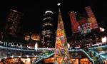 璀璨彩灯迎圣诞