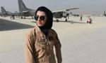 阿富汗首位女飞行员申请在美避难