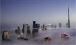 大雾笼罩迪拜
