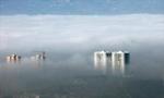 贵州威宁平流雾景观宛若仙境