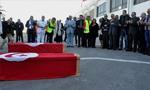土耳其恐袭事件突尼斯遇难者遗体运抵回国