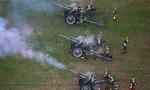 古巴举行大型阅兵式庆祝武装部队建立60周年