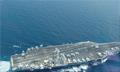 """美国航母中东暂缺两月 """"空档期""""或因囊中羞涩"""
