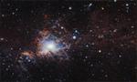 欧洲天文台公布猎户座分子云 色彩斑斓