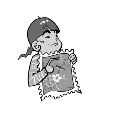 漫画手绘各种食材