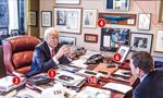 特朗普办公室陈设曝光:和中国有关
