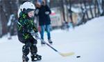 俄罗斯民众的户外冰雪运动