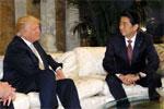"""日本高调""""示爱""""特朗普政府 安倍急赴美要谈钓岛"""