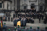 德国前总统赫尔佐克葬礼在柏林举行