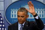"""奥巴马卸任后首发声 称对游行感到""""鼓舞"""""""