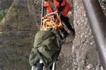 浙江6岁男孩跌落30米高悬崖 只受皮外伤