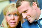 他娶了自己的中学老师 如今有望当选法国总统
