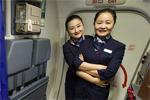 母女两代空姐的蓝天梦