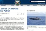 美核动力航母编队驶入南海,为特朗普上台后首次