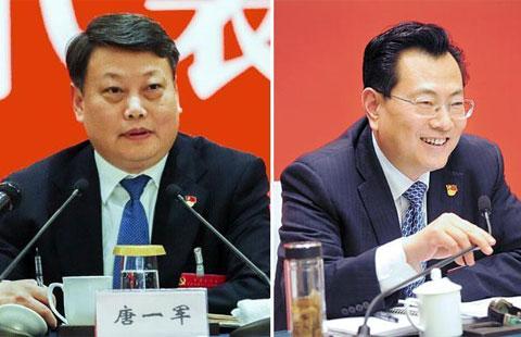 唐一军裘东耀参加代表团审议
