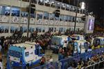 里约狂欢节花车失控 至少8人受伤