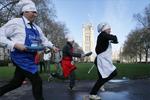 英国:议会的颠煎饼跑比赛