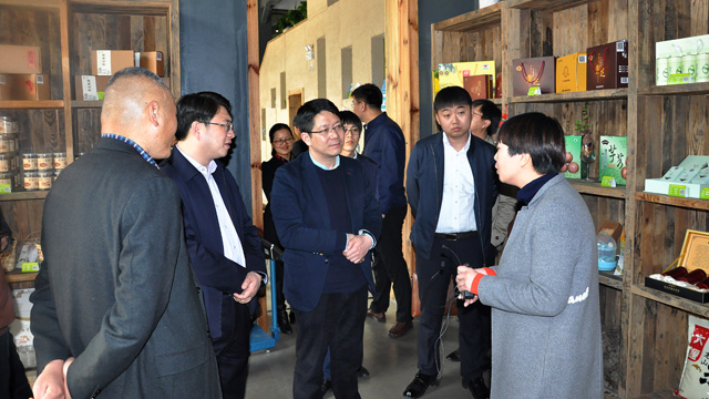吉林延边团州委书记朴君峰做客考察尚田+青农创客空间