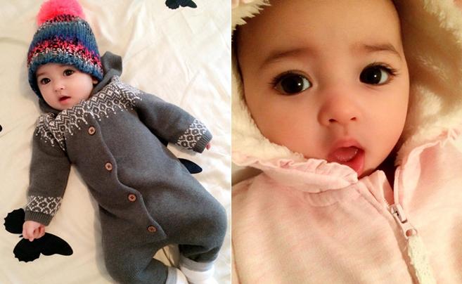 出生自带美颜效果 瑞典宝宝网上走红