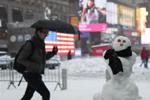 美国东北部遭遇暴风雪