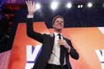 出口民调显示荷兰自由民主党赢得众议院最多席位
