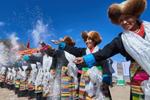 西藏迎来农业盛典――春耕仪式
