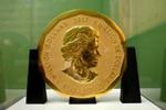 """德国100公斤重""""超级金币""""失窃 价值450万美元"""
