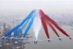 法国飞行表演队亮相纽约