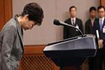 朴槿惠拘留所内接受第三次调查 全盘否认自己有罪