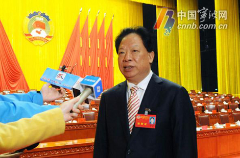 访新当选的市政协主席杨戌标:同心、同步、同向、同行