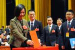 新一届市政协领导班子选举产生 杨戌标当选市政协主席