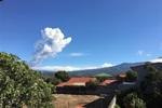 哥斯达黎加波阿斯火山再度喷发