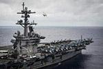 这次真来了!美航母战斗群抵韩 将与韩军方联合演习