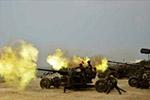 金正恩观看联合打击示威训练 逾300门火炮齐开火