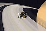 """""""卡西尼""""号终极任务:高速俯冲土星内环拍照"""