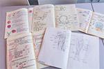 女大学生的课堂笔记 堪比艺术绘本