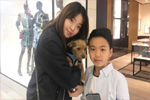 王中磊儿子迎11岁生日 姐姐发合照为弟弟庆生
