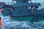 台湾海巡队再扣大陆渔船 击发子弹致两渔民受伤