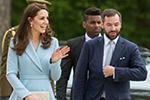 凯特王妃出访卢森堡 尽显高贵气质