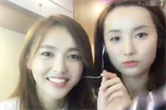人美歌也甜!唐嫣和闺蜜吕一录视频秀歌喉
