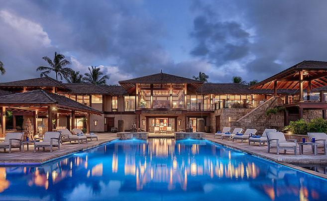 夏威夷豪宅售价4.8亿:每个房间都是海景房