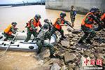 浙江特战勇士在孤岛开展实战化训练