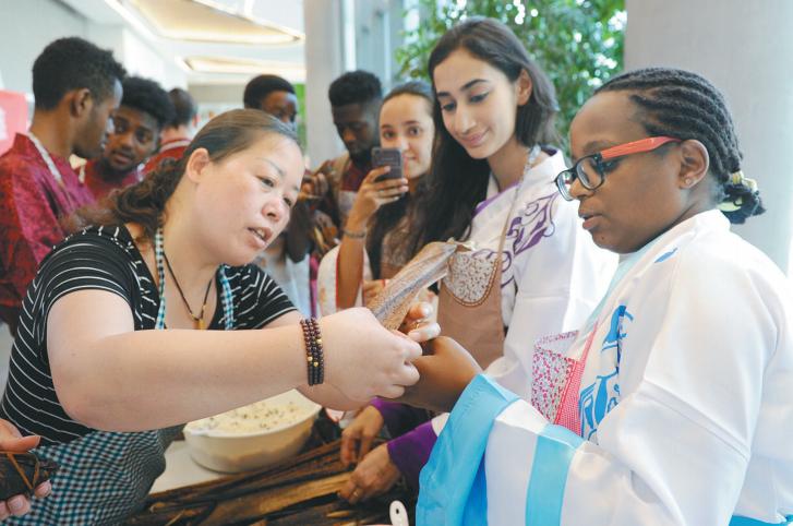 留学生体验 中国文化