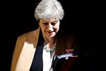 英大选临近 特雷莎・梅所在保守党领先优势缩减